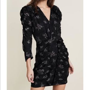 Rebecca Taylor Black Glitter Dress 2